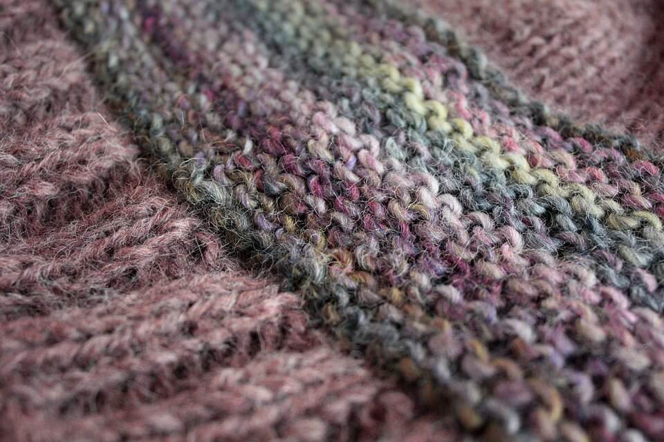 Knit material